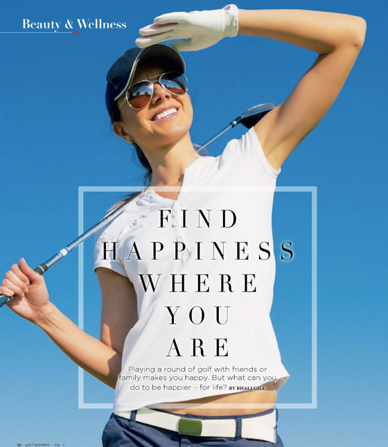 Finding Happiness Where You Are