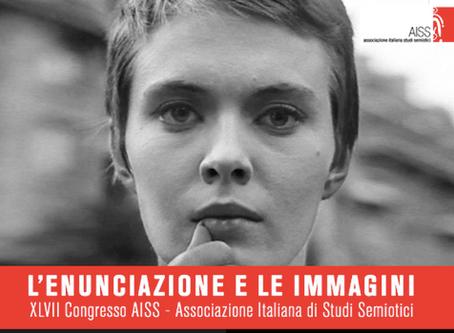 """Partecipazione al XLVII Congresso AISS """"L'enunciazione e le immagini"""", Siena 25-27 ottobre 2019"""