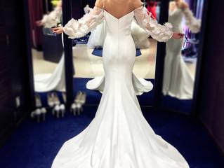 マーメイドドレス挙式👗💐