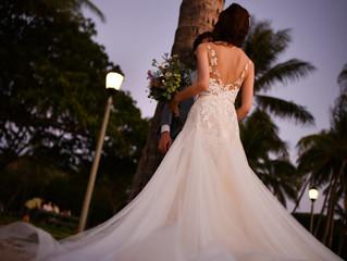 ハワイで挙式を挙げられた花嫁様よりお写真をいただきました🌴🌺✨
