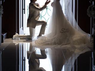 アルカンシエルluxemariage大阪でご挙式された花嫁様からのお写真いただきました💐