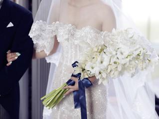 ドレス2着オーダーされた花嫁様👰✨マーメイドラインとってもお似合いで、人魚のような素敵な花嫁様💓末長くお幸せに💕
