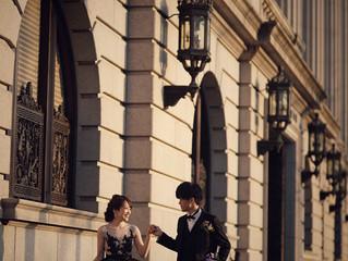 ブラックドレスをオーダーされたお客様から前撮りのお写真をいただきました📸😍