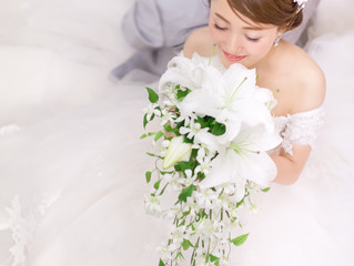 世界で一つのオリジナルドレスです❤︎❤︎❤️カスタムしていただいたので花嫁様だけのデザインです😊💓とってもお似合いでした〜〜✨