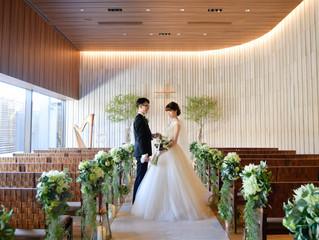 先日お式を挙げられた花嫁さまよりお写真をいただきました💓