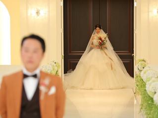 名古屋の花嫁様よりお写真をいただきました😍💐