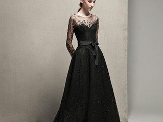 ✨🌹潔いBLACKドレスで大人花嫁に🌹✨