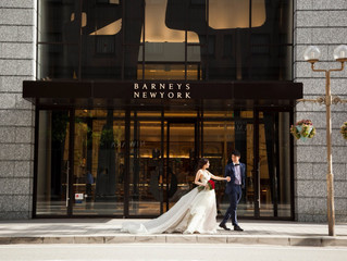 神戸の居留地で後撮りをされた花嫁からお写真をいただきました📸✨