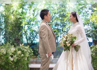 花嫁様からお写真をいただきました💐✨