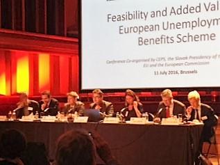 11 July 2016 - Final Conference European Unemployment Benefits Scheme