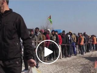 Calais 13-03-2016 Hulp Is aangekomen!