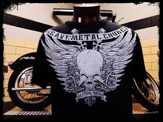 Affliction Styled Soft Blend Heavy Metal Church Shirt