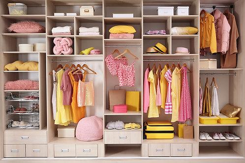 Closet Check-up (Same as a Closet Audit)