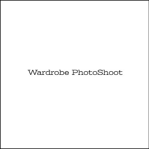 Wardrobe Photo Shoot