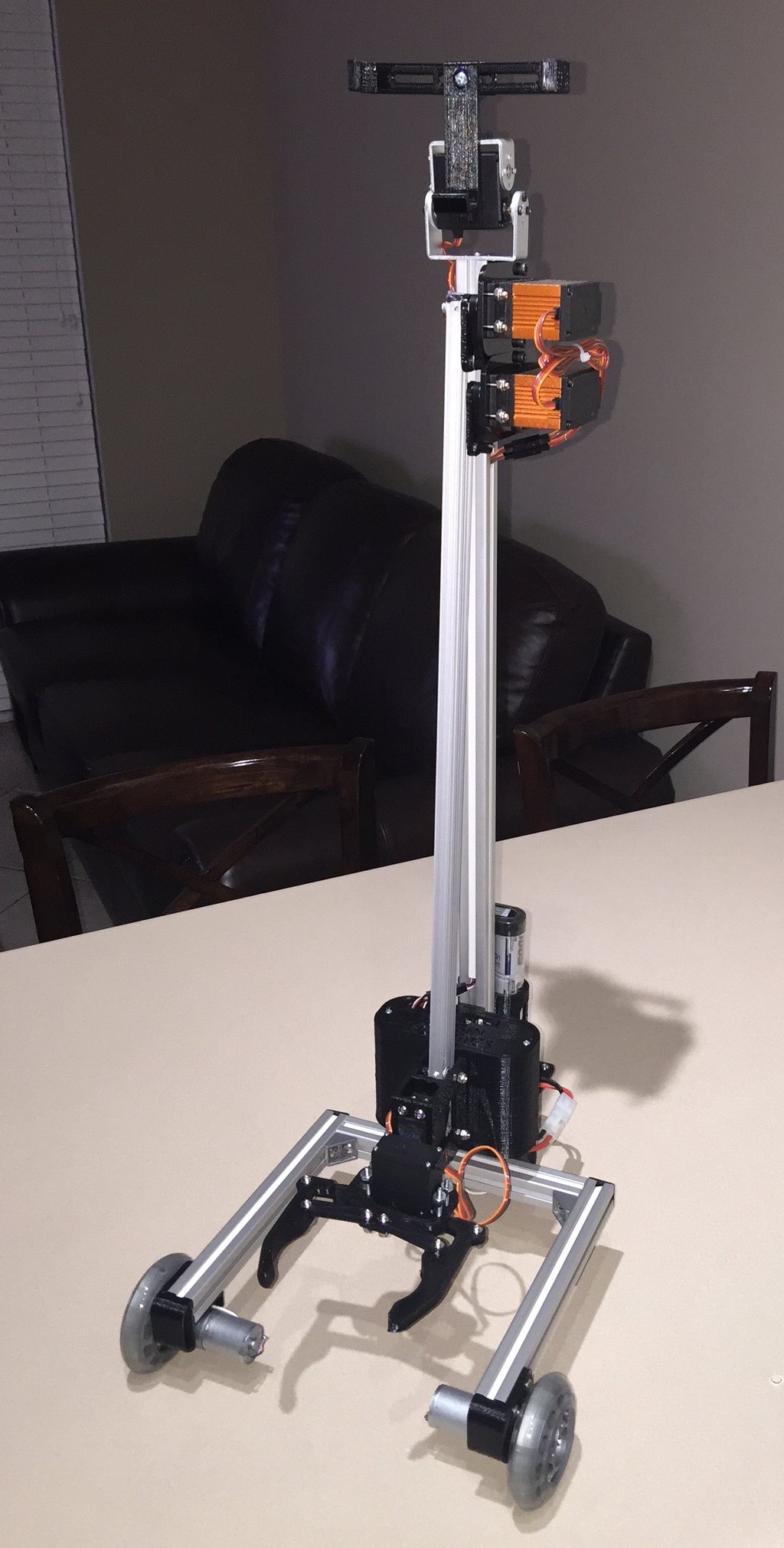 OrigiBot Production Model Assembled