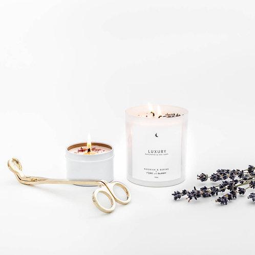 Nourish & Refine Luxury Soy Candle 10oz