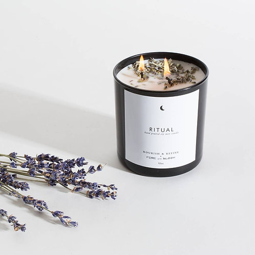 Nourish & Refine Ritual 10oz Candle