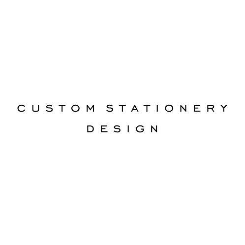 Custom Stationery Design Deposit