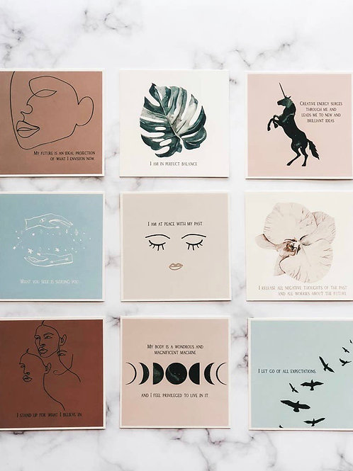 Be You Affirmation Cards // Pre-Order