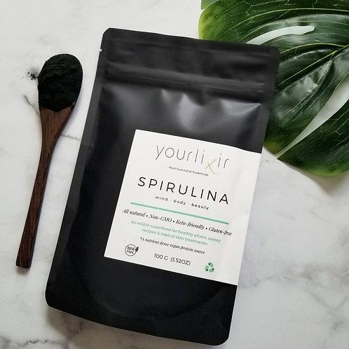 Yourlixir Spirulina Powder