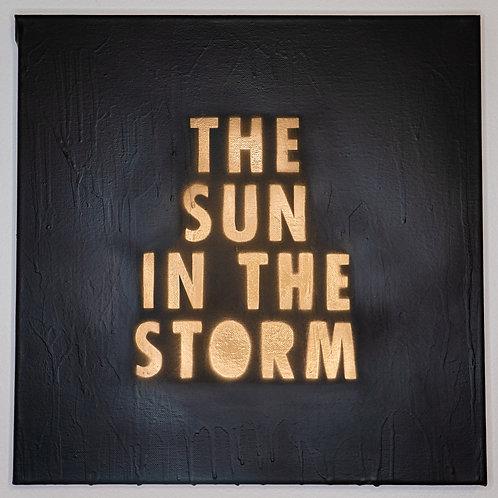 THE SUN IN THE STORM - ORIGINAL ARTWORK