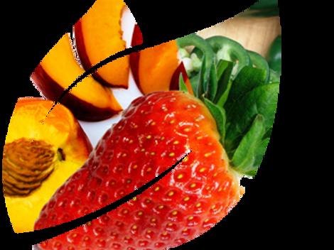 Peach, Strawberry & Jalapeño Shrub