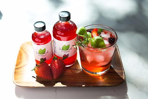 Berry, Basil & Thyme Shrub (8oz)