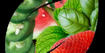 Watermelon, Strawberry & Jalapeño with Herbs (Mint & Basil) (16oz)