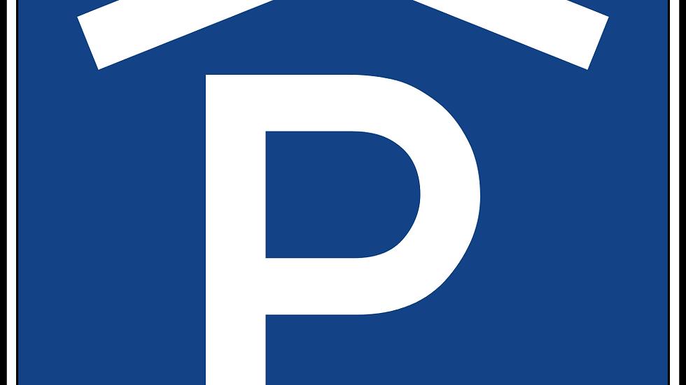 Parkplatz in Einstellhalle
