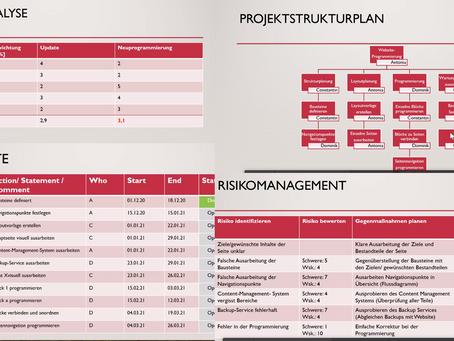 Projektmanagement Workshop mit der Targus Management Consulting AG