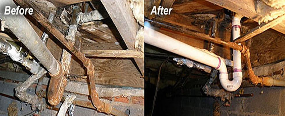 Cast Iron convert to PVC