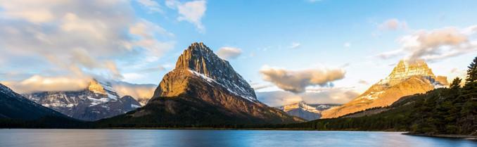 Swiftcurrent Lake Glacier National Park