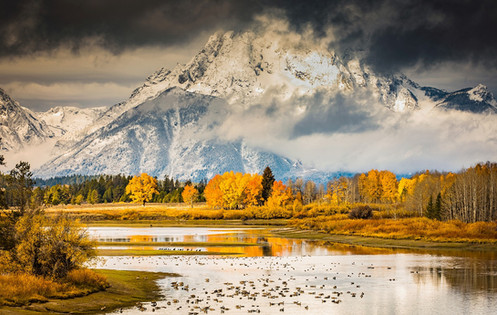 Oxbow Bend Grand Teton National Park