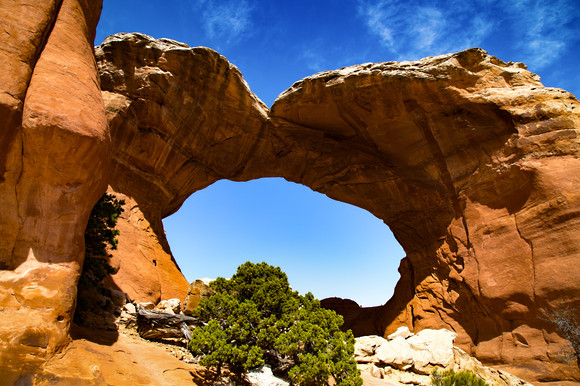 Broken Arch Arches National Park