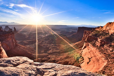 Sunrise Canyonlands National Park