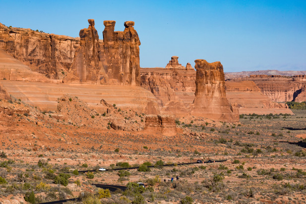 Three Gossips Arches National Park