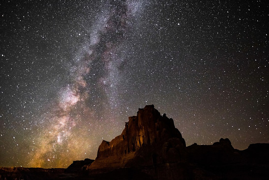 Milky Way Arches National Park