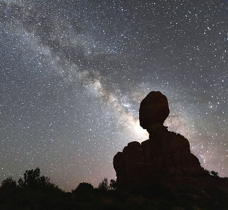 Milky Way Arches National Park Photography Workshop