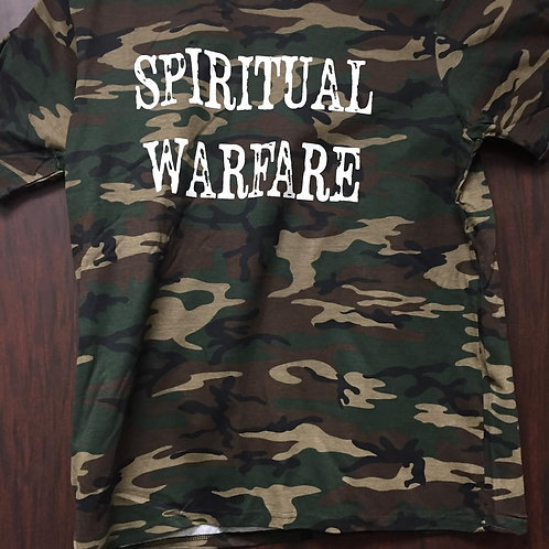 The Genesis Church Spiritual Warfare T-Shirt