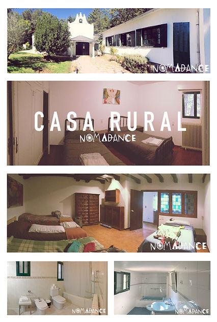 Alojamiento Casa RURAL.hecho.nomadance.j