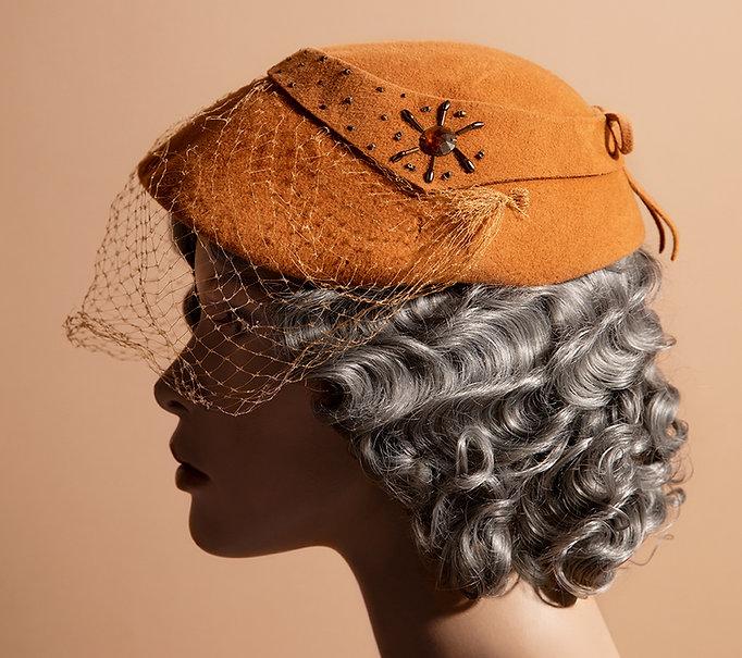 Great Grandma Zita's vintage hat portrait - Kaylinn Gilstrap Photo