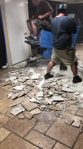 Floor Stripper Demo