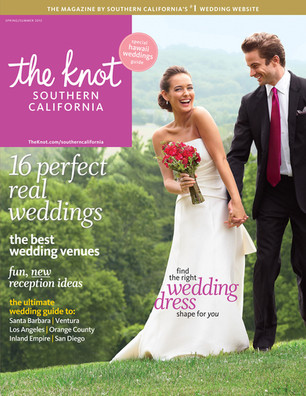 featured in the knot.