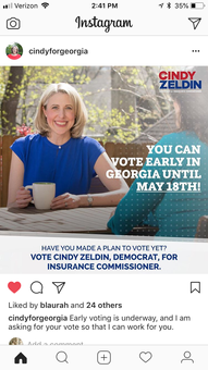 Cindy Zeldin Campaign