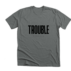 dark gray tee trouble clothes.PNG