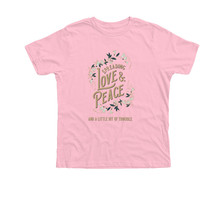 Trouble Clothes pink youth tee