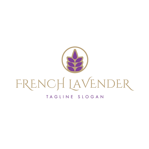 French Lavender Remix Logo & Branding Package