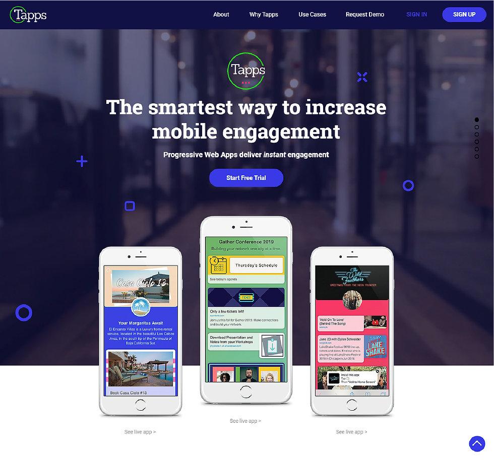 App Tech company web design atlanta  Pixlrabbit