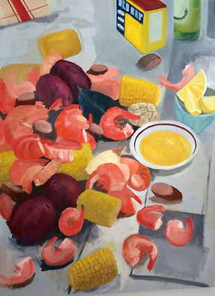 What's for Dinner Debbie Alphin contemporary Atlanta artist