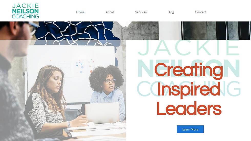 coaching website pixlrabbit, jackie neilson